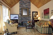 House Design - Country Interior - Family Room Plan #927-274