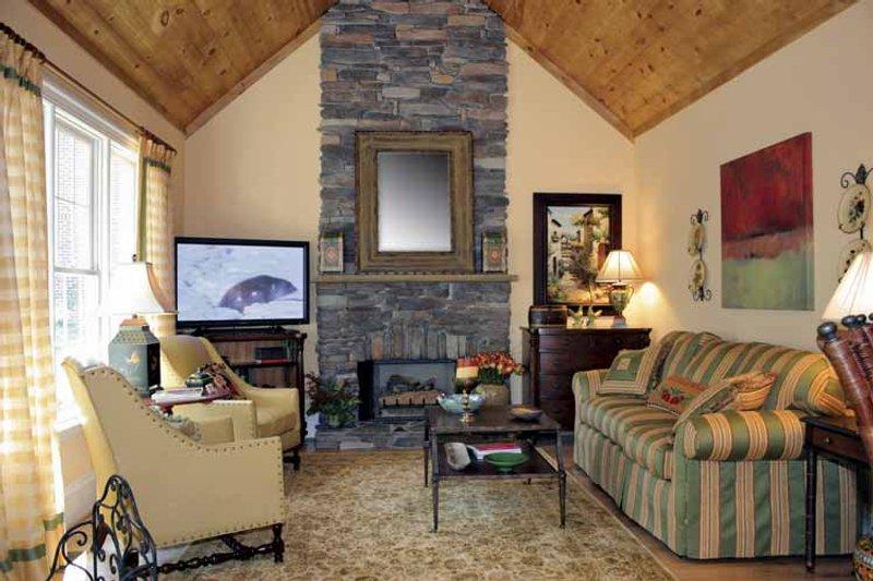 Country Interior - Family Room Plan #927-274 - Houseplans.com