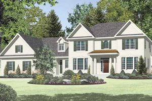 House Design - Traditional Exterior - Front Elevation Plan #328-462