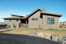 Ranch Exterior - Front Elevation Plan #895-76