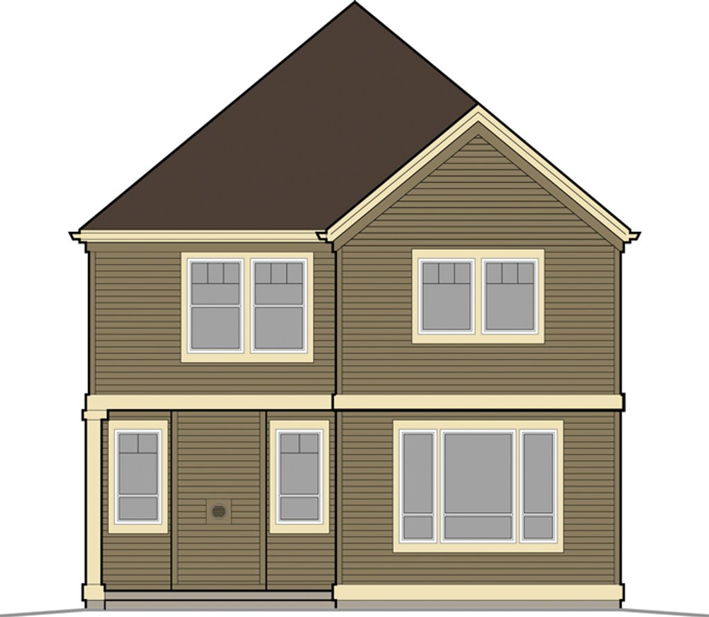 Craftsman style house plan 3 beds 2 5 baths 1816 sq ft for Weinmaster house plans