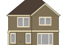 House Plan Design - Craftsman Exterior - Rear Elevation Plan #48-907