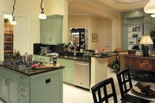 Mediterranean Interior - Kitchen Plan #930-324
