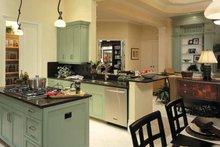 Mediterranean Interior - Kitchen Plan #930-324