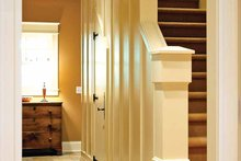 Traditional Interior - Entry Plan #928-26
