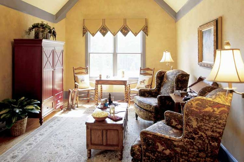 Country Interior - Family Room Plan #927-855 - Houseplans.com