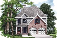 Country Exterior - Front Elevation Plan #927-711