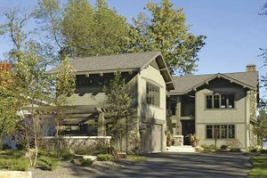 Craftsman Exterior - Front Elevation Plan #928-15