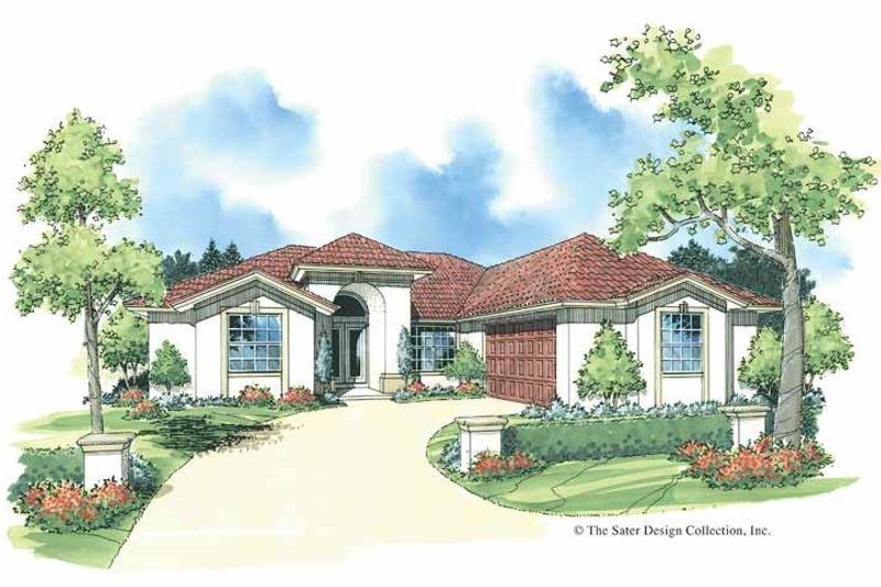 House Plan Design - Adobe / Southwestern Exterior - Front Elevation Plan #930-338