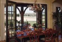 House Plan Design - European Interior - Dining Room Plan #453-176