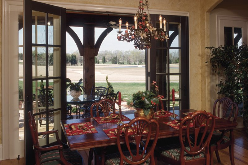 European Interior - Dining Room Plan #453-176 - Houseplans.com