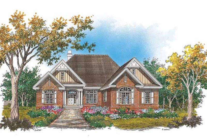 House Plan Design - European Exterior - Front Elevation Plan #929-639