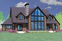 Craftsman Exterior - Front Elevation Plan #509-393