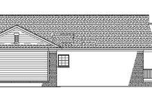 Home Plan - Craftsman Exterior - Other Elevation Plan #17-2751