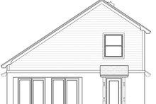 Home Plan - European Exterior - Rear Elevation Plan #1058-108
