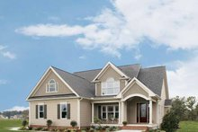 Home Plan - Country Exterior - Front Elevation Plan #929-697