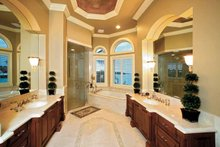 Mediterranean Interior - Bathroom Plan #1017-14