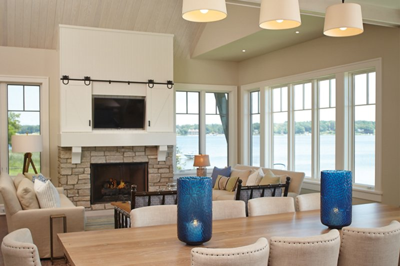 Craftsman Interior - Dining Room Plan #928-252 - Houseplans.com