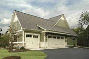 Bungalow Style House Plan - 2 Beds 2.5 Baths 2243 Sq/Ft Plan #928-169 Exterior - Other Elevation