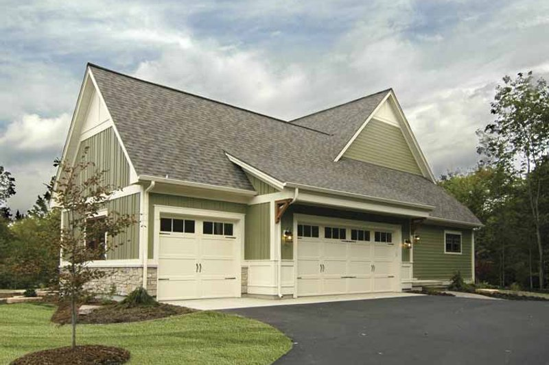Bungalow Exterior - Other Elevation Plan #928-169 - Houseplans.com