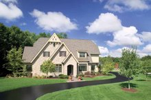 Architectural House Design - European Exterior - Front Elevation Plan #928-42