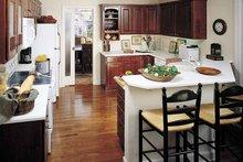 Country Interior - Kitchen Plan #929-377