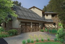 Home Plan - Cottage Exterior - Other Elevation Plan #120-244