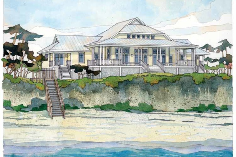 Country Exterior - Front Elevation Plan #928-43 - Houseplans.com