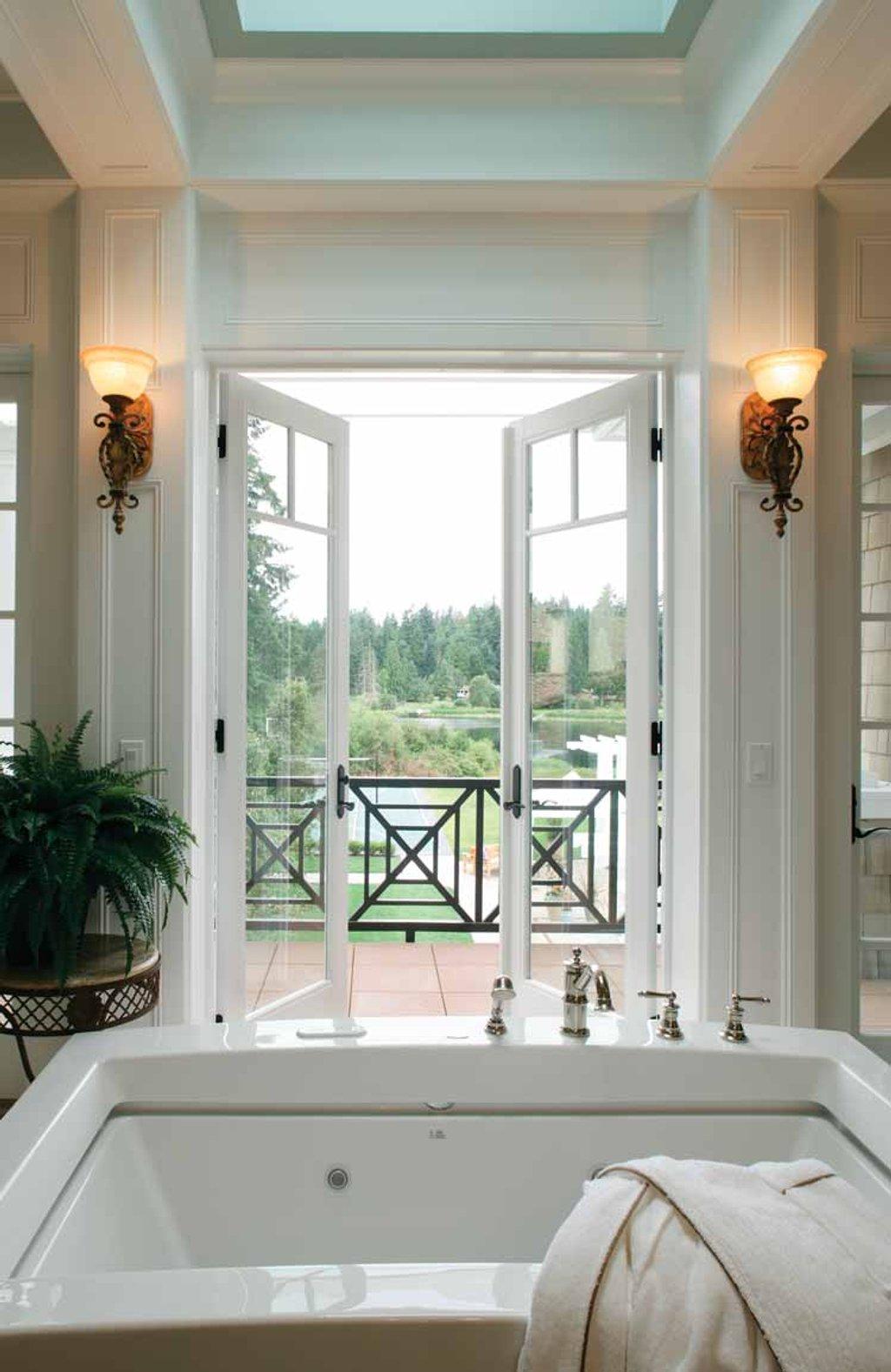 Prairie Style House Plan - 4 Beds 6 Baths 9820 Sq/Ft Plan #132-354 ...