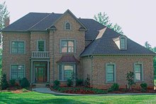 Colonial Exterior - Front Elevation Plan #453-223