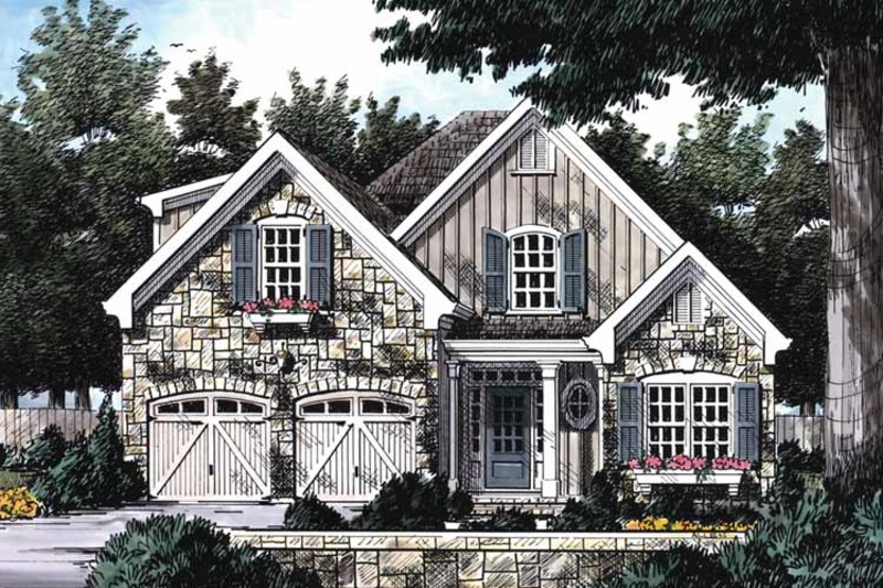 Country Exterior - Front Elevation Plan #927-683 - Houseplans.com