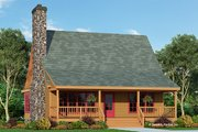 Country Style House Plan - 3 Beds 2 Baths 1338 Sq/Ft Plan #929-112