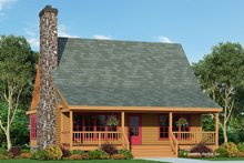 Dream House Plan - Country Exterior - Front Elevation Plan #929-112