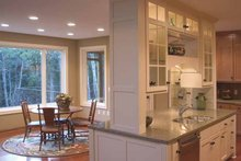 Classical Interior - Kitchen Plan #51-657