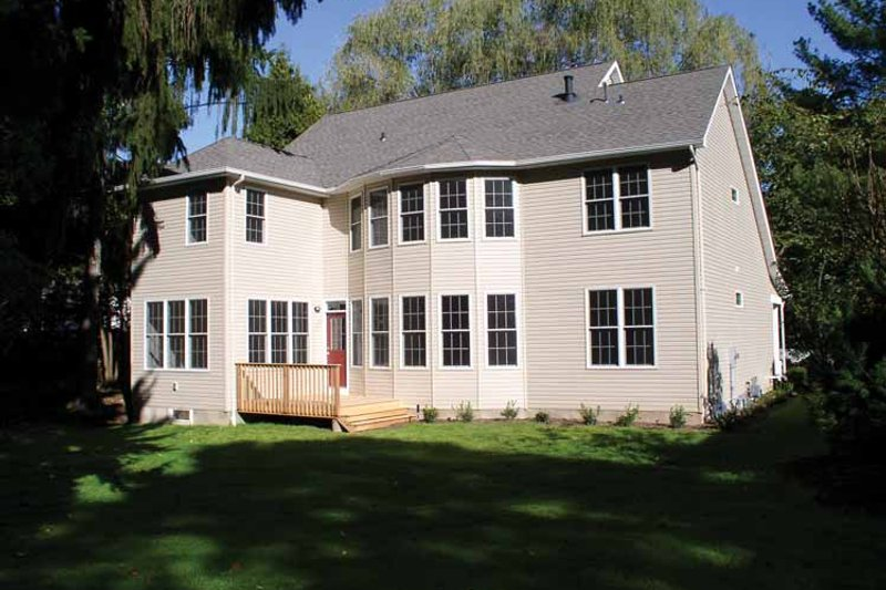 Country Exterior - Rear Elevation Plan #927-892 - Houseplans.com