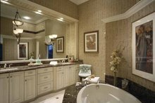 Mediterranean Interior - Bathroom Plan #930-324