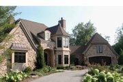 Tudor Style House Plan - 3 Beds 3 Baths 3586 Sq/Ft Plan #928-61