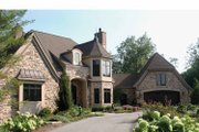 Tudor Style House Plan - 3 Beds 3 Baths 3586 Sq/Ft Plan #928-61 Exterior - Front Elevation