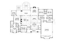 European Floor Plan - Main Floor Plan Plan #929-939