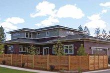 Architectural House Design - Prairie Exterior - Rear Elevation Plan #895-62