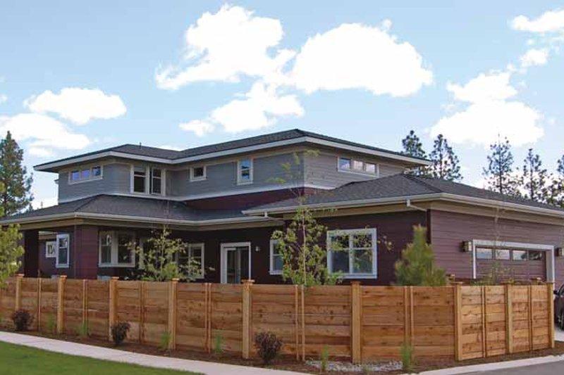 Prairie Exterior - Rear Elevation Plan #895-62 - Houseplans.com