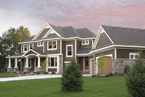 Home Plan - Country Exterior - Front Elevation Plan #51-1121