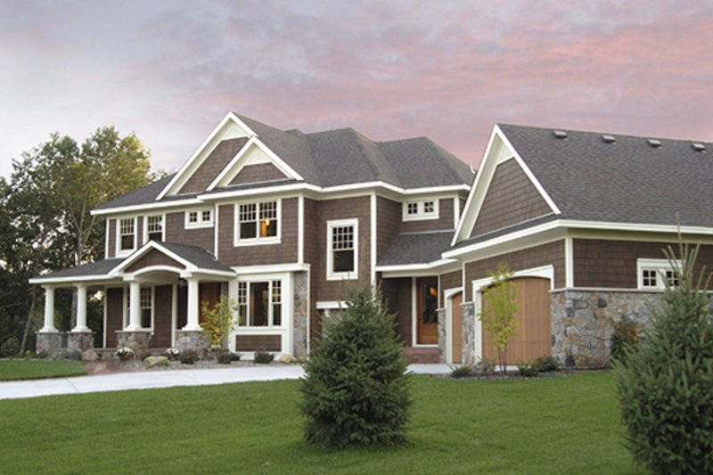 Country Exterior - Front Elevation Plan #51-1121