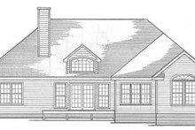 Dream House Plan - Mediterranean Exterior - Rear Elevation Plan #10-282