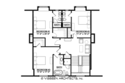 Country Style House Plan - 4 Beds 4.5 Baths 5270 Sq/Ft Plan #928-285 Floor Plan - Upper Floor Plan