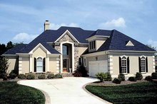 Traditional Exterior - Front Elevation Plan #453-550