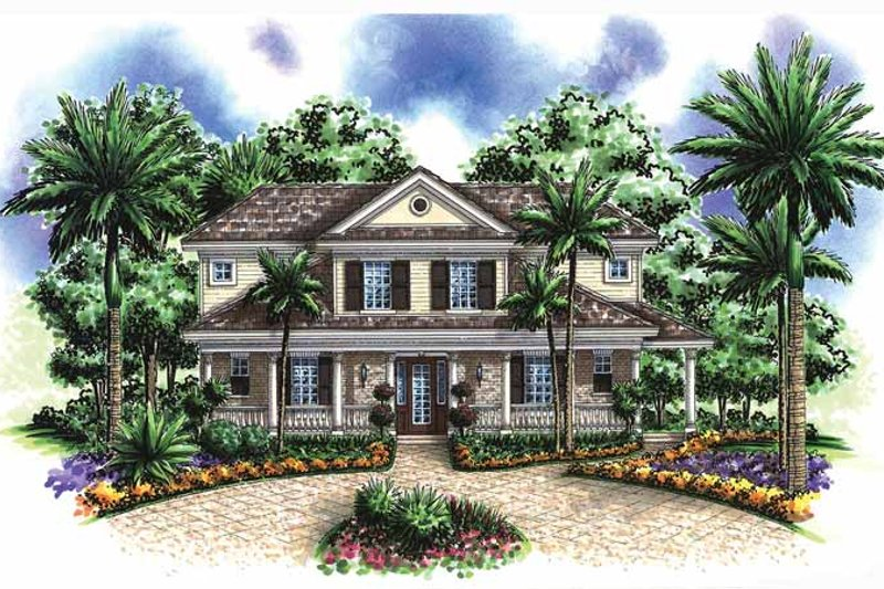 Dream House Plan - Contemporary Exterior - Front Elevation Plan #1017-52