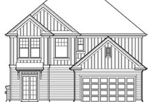 House Plan Design - Country Exterior - Rear Elevation Plan #48-908