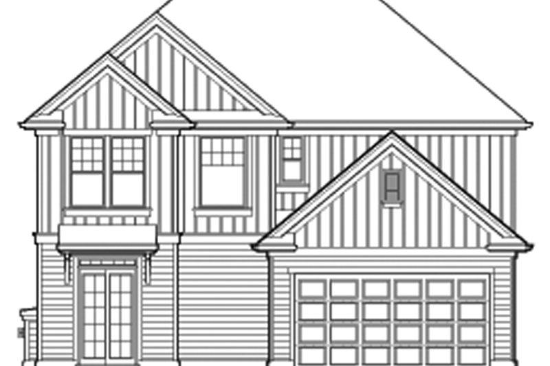 Country Exterior - Rear Elevation Plan #48-908 - Houseplans.com