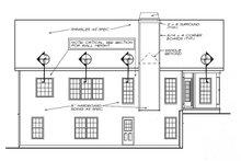 Ranch Exterior - Rear Elevation Plan #927-450